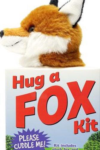 Hug a Fox Kit (Book with Plush)