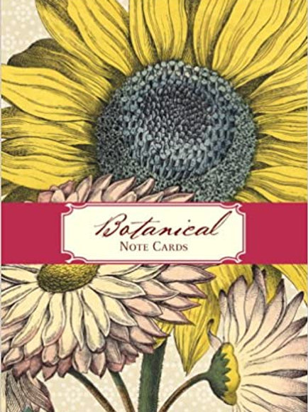 Botanical Small Note Cards