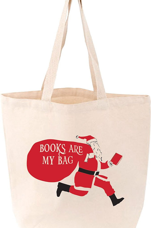 Santa's Book Bag Tote