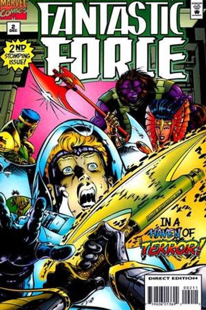 Fantastic Force Vol 1 #2 Comic – 1996