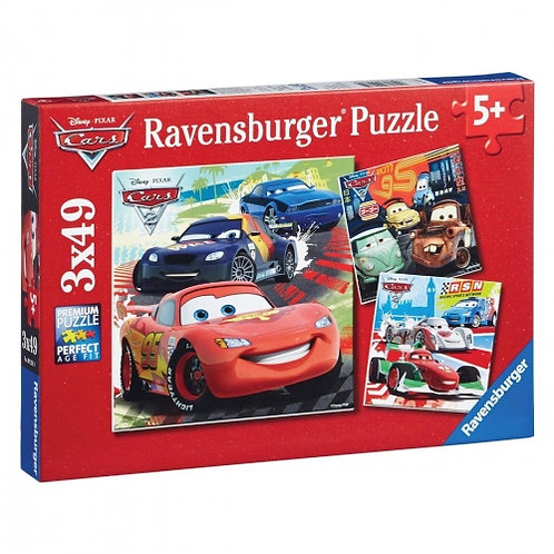 Disney Cars - Worldwide Racing Fun 3X49 PC Puzzles