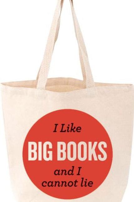 I Like Big Books Tote by Gibbs M Smith