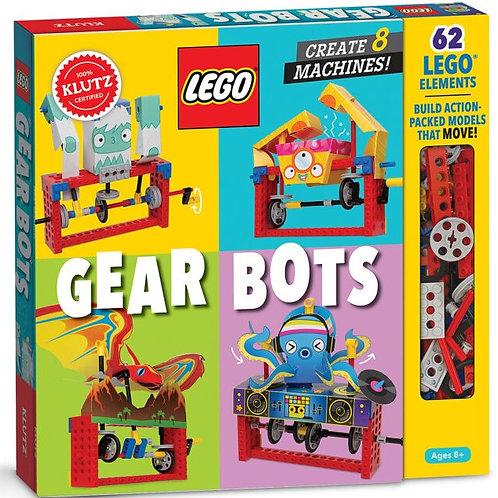 Lego Gear Bots: Create 8 Machines