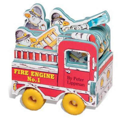 Fire Engine No. 1 [With Wheels]