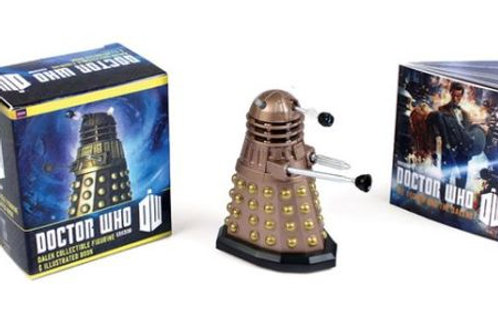Doctor Who: Dalek Collectible Figurine and Illustr