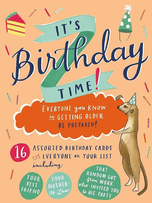 It's Birthday Time