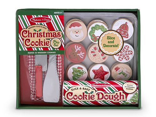 Slice & Bake Christmas Cookie Play Set Play Food