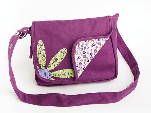 Faithgirlz Messenger Bag Grape: Medium