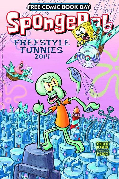 SpongeBob Freestyle Funnies 2014 FCBD Comic – 2014