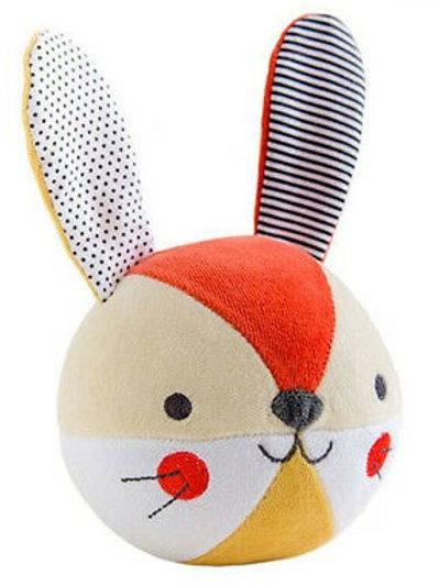 Bunny Organic Soft Chime Ball