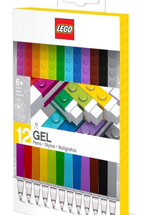 Lego 12 Pack Gel Pens