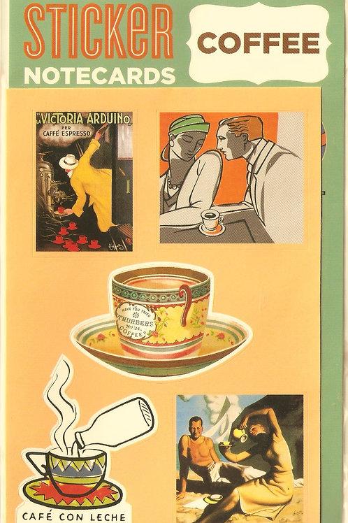 Coffee Sticker Card