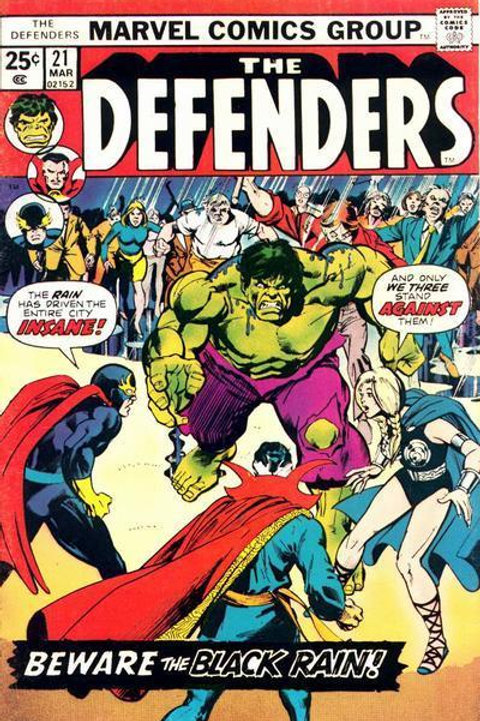 The Defenders Vol 1 21 Category:1975, March