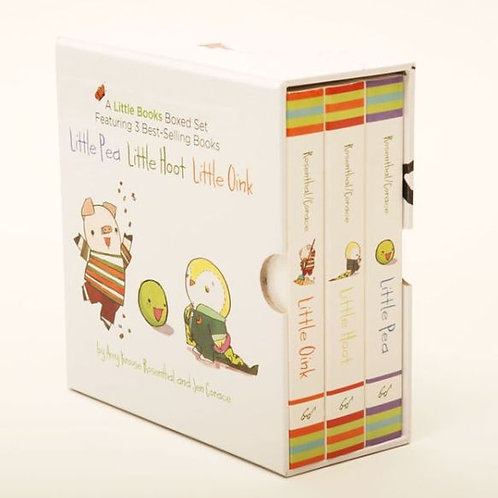 A Little Books Boxed Set Featuring: Little Pea