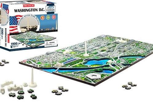 Washington DC Cityscape Time Puzzle