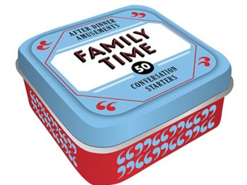 After Dinner Amusements: Family Time: 50 Conversation Starters