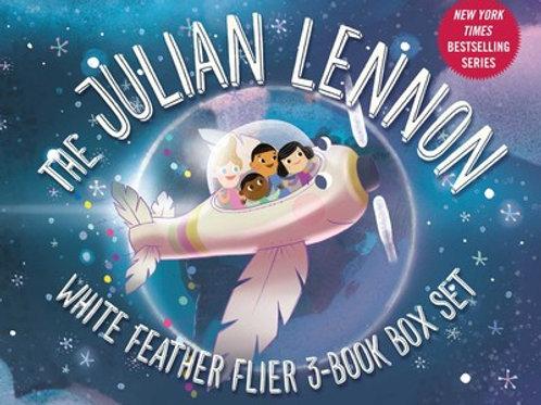 Julian Lennon White Feather Flier 3-Book Box Set