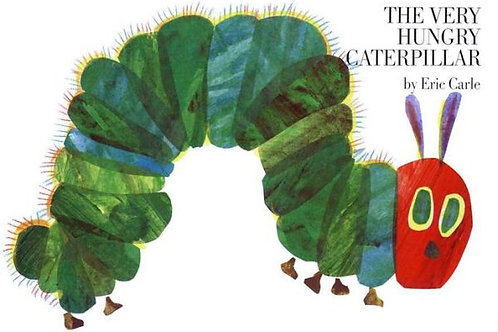 The Very Hungry Caterpillar (Lap-Sized Board Book)