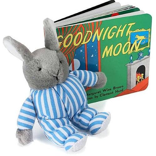Goodnight Moon (Board Book and Bunny)