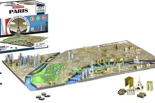 Paris Cityscape Time Puzzle