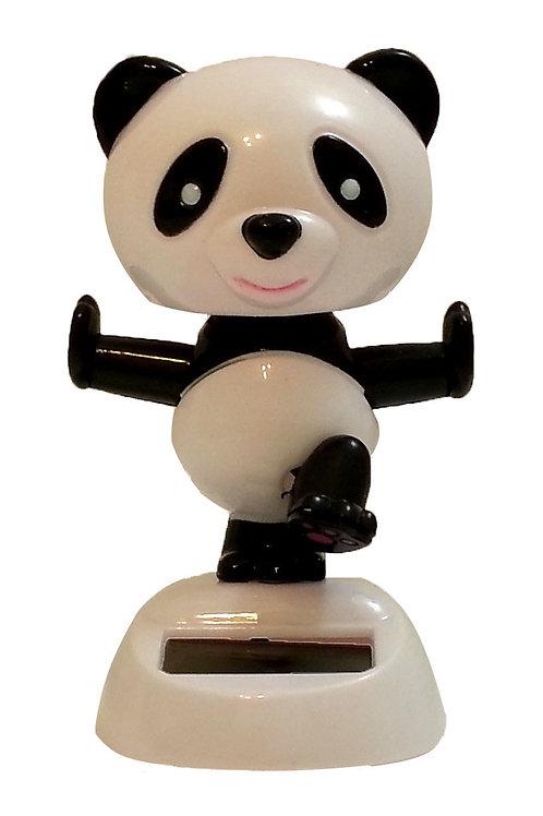 Solar Powered Dancing Panda Bear
