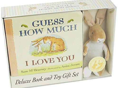 Guess How Much I Love You : Deluxe Book and Toy Gift Set [With Toy Rabbit]