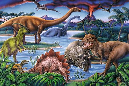 Dinosaur Playground 35 PC Puzzle