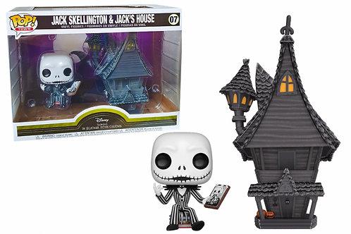 Pop! Nightmare Before Christmas Jack Skellington with Jack's House