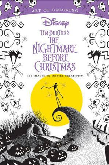 Art of Coloring: The Nightmare Before Christmas