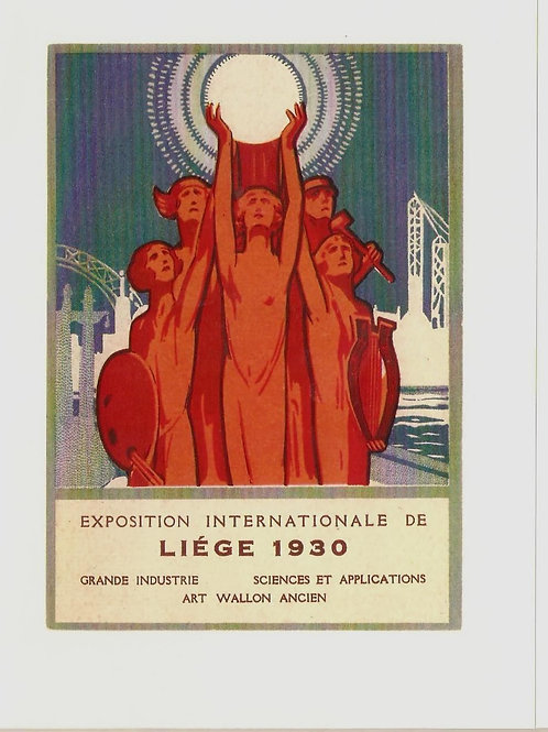 Exposition Internationale de Liege 1930