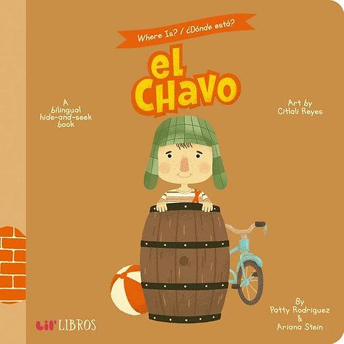 El Chavo: Where Is?/Donde Esta A Bilingual Hide-And-Seek Book