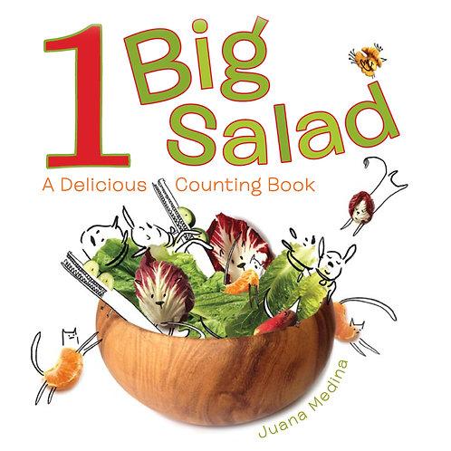 1 Big Salad : A Delicious Counting Book