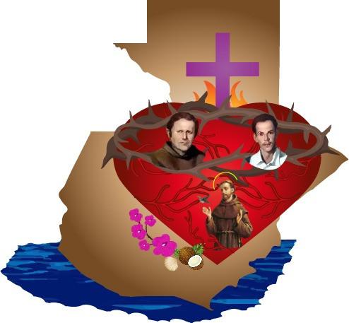Logo oficial del Cuarto Encuentro Juvenil de Presencias Franciscanas de Guatemala