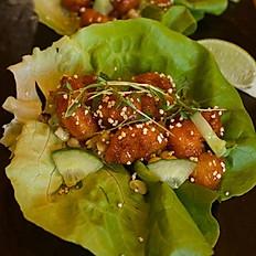 Sweet & Spicy Popcorn Shrimp