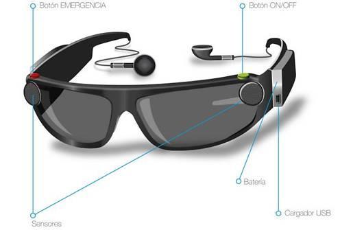Empresa española construye unas gafas de realidad auditiva aumentada para sustituir al bastón y al p