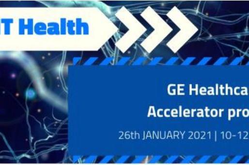 """Presentación online del """"GE Healthcare Accelerator program"""" el 26 de enero"""