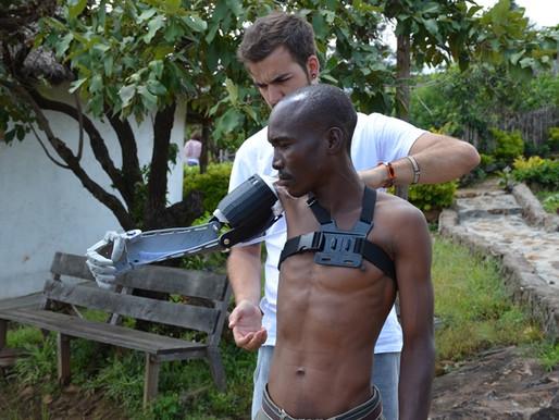 Charla en Madrid: AYUDAME3D: Fabricando brazos desde mi habitación