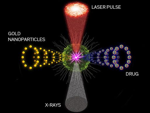 Láser, rayos X, y nanopartículas de oro para tratar el cáncer