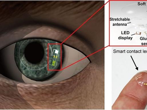 Mejoras en las lentillas capaces de monitorizar glucosa en pacientes diabéticos