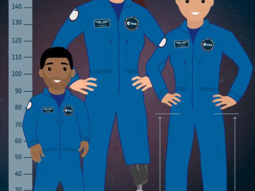 Se busca ciudadano con discapacidad para convertirse en astronauta