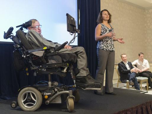 La nueva silla de Stephen Hawking