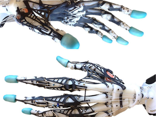 La mano robótica más antropomórfica creada hasta la fecha