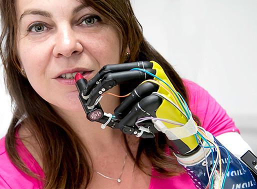 Crean una prótesis con propiocepción