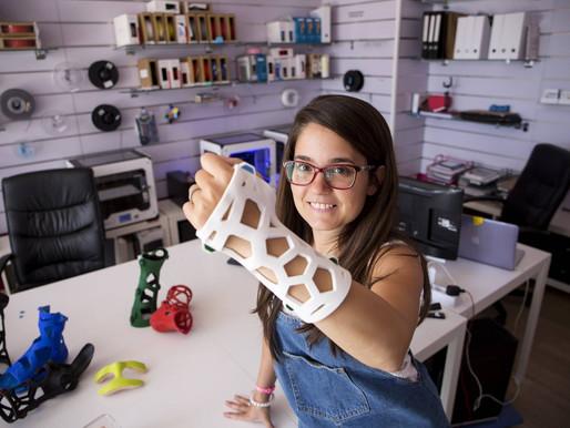 FIIXIT, la empresa española que pretende terminar con las escayolas gracias a la impresión 3D