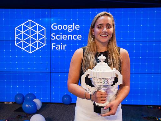 Google premia a jóvenes adolescentes que han hecho invenciones para combatir el ébola, el Alzheimer