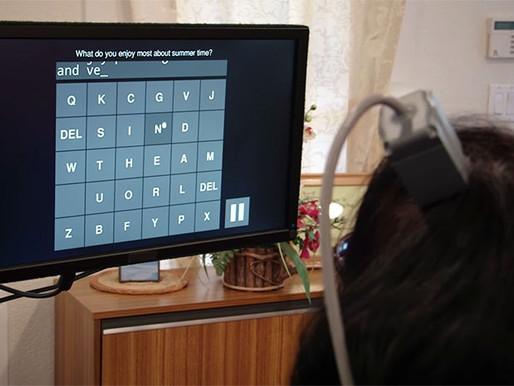 Nuevo récord del mundo: paciente paralítico escribe ocho palabras por minuto con una interfaz BCI