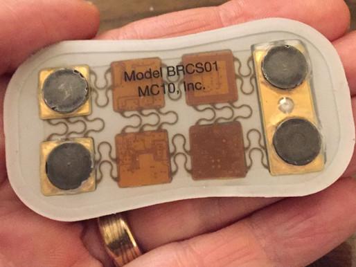 BioStampRC, el primer werable comercial con circuitos flexibles