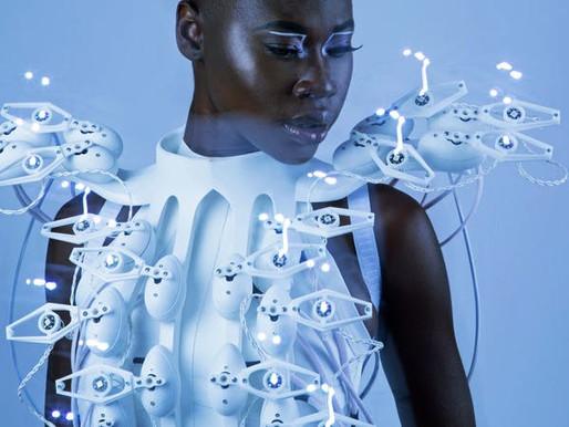 Pangolin Scales Dress: Ingeniería biomédica + moda