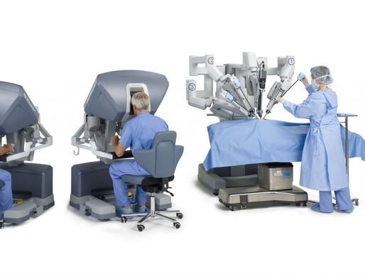 Sorprendente video del robot cirujano Da Vinci