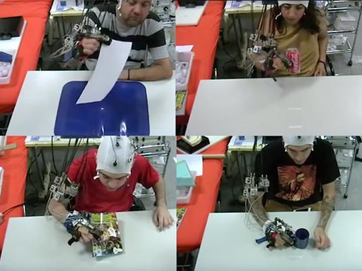 Exoesqueleto desarrollado en Italia permita parapléjicos volver a recuperar control motor de su braz